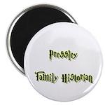 Pressley Family Historian Magnet