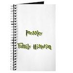 Pressley Family Historian Journal
