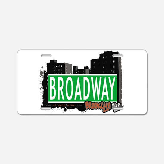 Broadway, BROOKLYN, NYC Aluminum License Plate