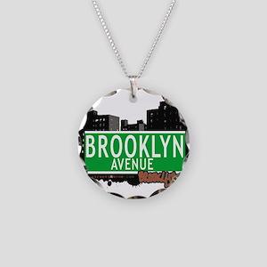 Brooklyn avenue, BROOKLYN, NYC Necklace Circle Cha