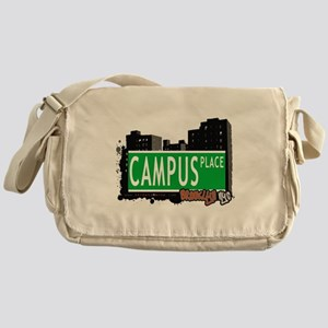 Campus place, BROOKLYN, NYC Messenger Bag