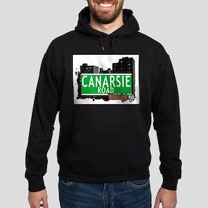 Canarsie road, BROOKLYN, NYC Hoodie (dark)