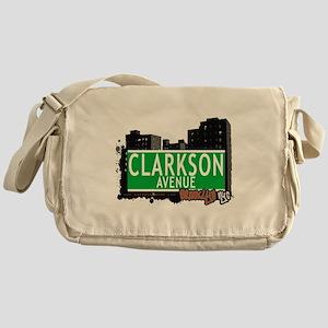 Clarkson avenue, BROOKLYN, NYC Messenger Bag