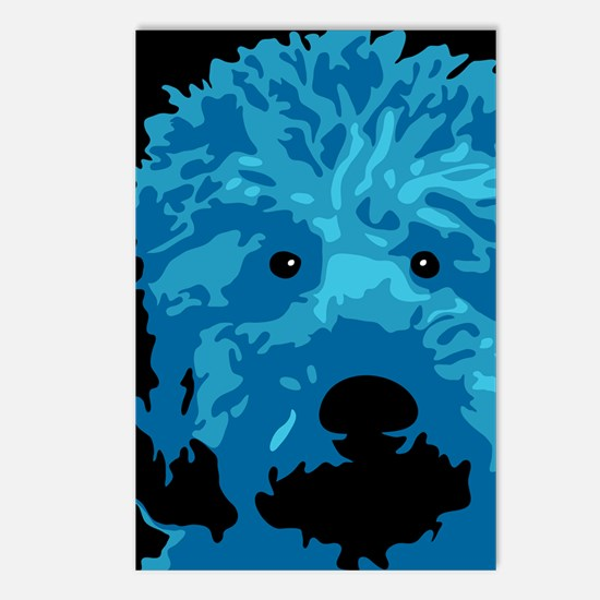 Labradoodle_c4.png Postcards (Package of 8)