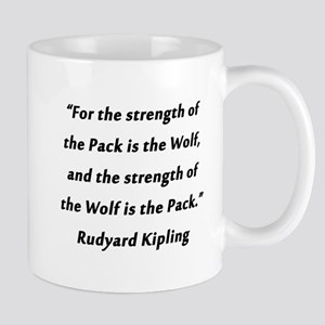 Kipling - Strength of Pack 11 oz Ceramic Mug