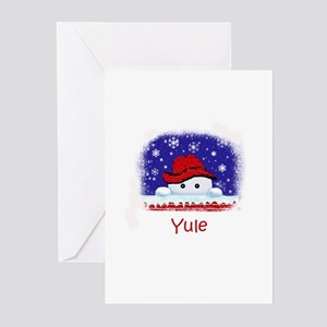 Yule Greeting Cards (Pk of 10)
