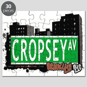 Cropsey avenue, BROOKLYN, NYC Puzzle