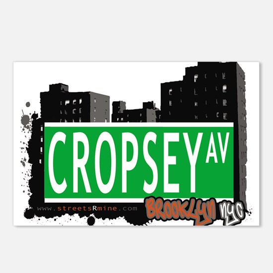 Cropsey avenue, BROOKLYN, NYC Postcards (Package o