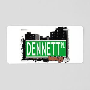 DENNETT PL, BROOKLYN, NYC Aluminum License Plate