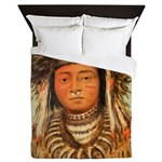 Ermine Tail Warrior Queen Duvet