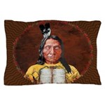 Red Cloud Pillow Case