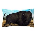 Prairie Bison Pillow Case