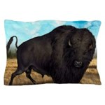 Prairie Bison Pillow Case