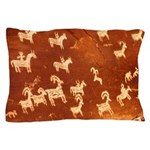 Atlatl Rock Petroglyphs Pillow Case