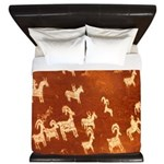 Atlatl Rock Petroglyphs King Duvet