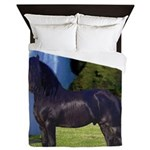 Hidden Horse Canyon Queen Duvet