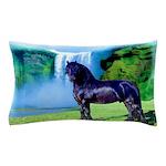 Hidden Horse Canyon Pillow Case