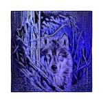 Night Warrior Wolf Queen Duvet