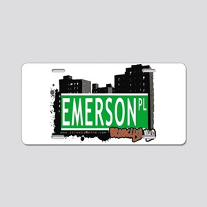 EMERSON PL, BROOKLYN, NYC Aluminum License Plate