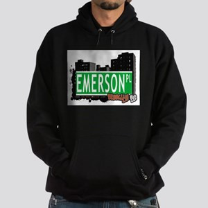 EMERSON PL, BROOKLYN, NYC Hoodie (dark)
