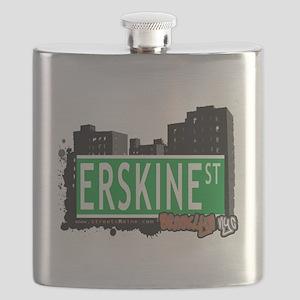 ERSKINE ST, BROOKLYN, NYC Flask