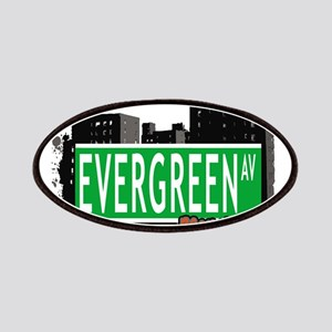 EVERGREEN AV, BROOKLYN, NYC Patches