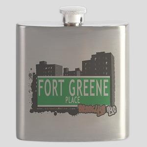 Fort Greene Place, BROOKLYN, NYC Flask