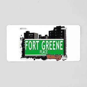Fort Greene Place, BROOKLYN, NYC Aluminum License