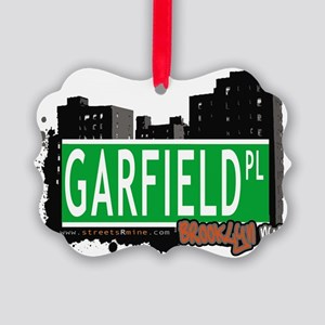GARFIELD PL, BROOKLYN, NYC Picture Ornament