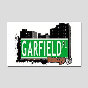 GARFIELD PL, BROOKLYN, NYC Car Magnet 20 x 12