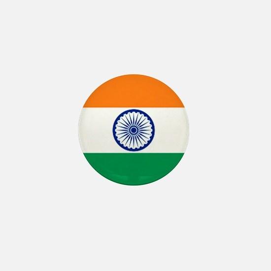 Flag of India Mini Button