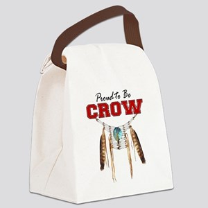 Proud to be Crow Canvas Lunch Bag
