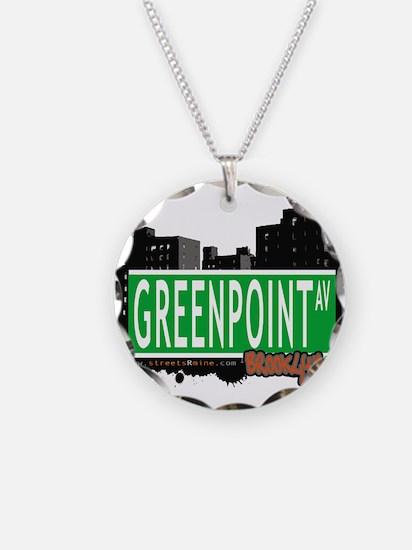 GREENPOINT AV, BROOKLYN, NYC Necklace