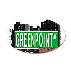 GREENPOINT AV, BROOKLYN, NYC Wall Decal