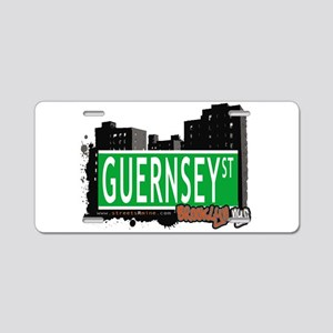 GUERNSEY ST, BROOKLYN, NYC Aluminum License Plate