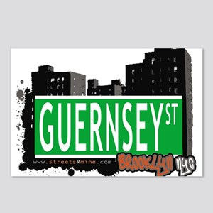 GUERNSEY ST, BROOKLYN, NYC Postcards (Package of 8