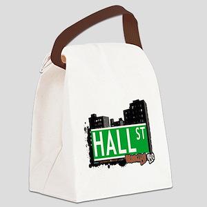 HALL ST, BROOKLYN, NYC Canvas Lunch Bag