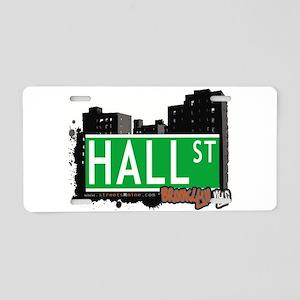 HALL ST, BROOKLYN, NYC Aluminum License Plate