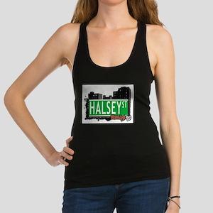 HALSEY ST, BROOKLYN, NYC Racerback Tank Top