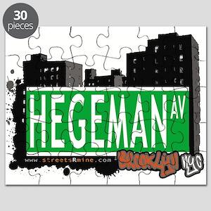 HEGEMAN AV, BROOKLYN, NYC Puzzle