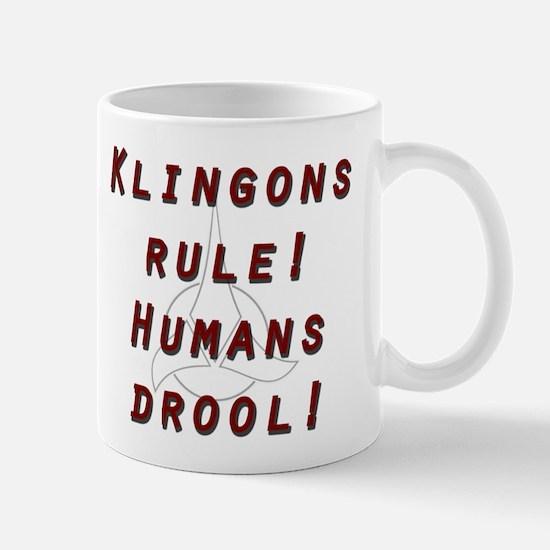 Klingons Rule Mug