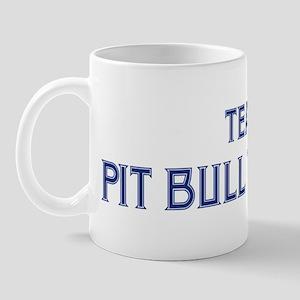 Team Pit Bull Terrier Mug