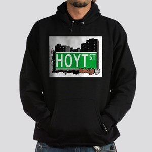 HOYT ST, BROOKLYN, NYC Hoodie (dark)