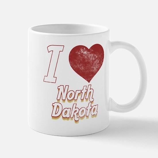 I Love North Dakota (Vintage) Mug