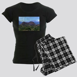 Garden of the Gods #6 Women's Dark Pajamas