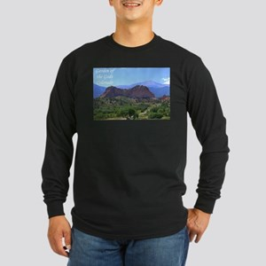 Garden of the Gods #6 Long Sleeve Dark T-Shirt