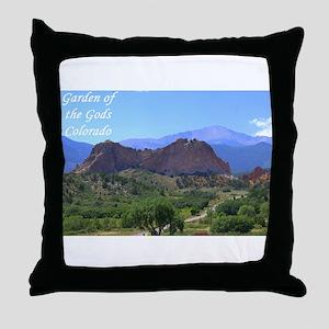 Garden of the Gods #6 Throw Pillow