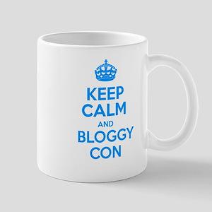 Keep Calm and Bloggy Con Mug