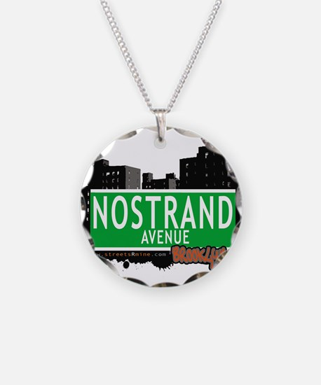 NOSTRAND AVENUE, BROOKLYN, NYC Necklace