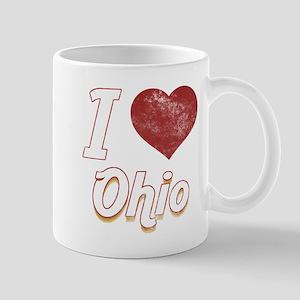 I Love Ohio (Vintage) Mug